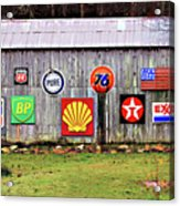 Gas From The Past Acrylic Print