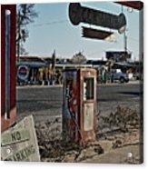 Gas Station Acrylic Print
