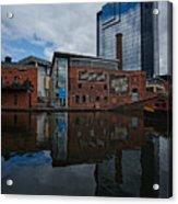 Gas Street Basin Birmingham Acrylic Print
