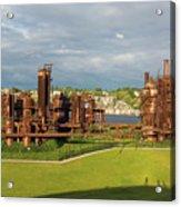 Gas Works Park In Seattle Washington Acrylic Print