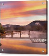 Gasconade River Sunrise Acrylic Print