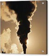 Gaseous Air Pollution Acrylic Print