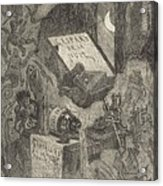 Gaspard De La Nuit Acrylic Print