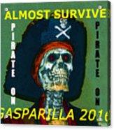 Gasparilla 2016 T Shirt Acrylic Print