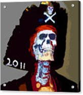 Gasparilla Pirate Fest Poster Acrylic Print by David Lee Thompson