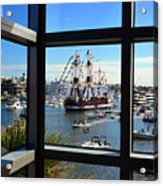 Gasparilla Through The Looking Glass Acrylic Print