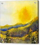 Gassaway Sunset Acrylic Print