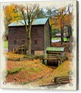 Gastons Mill 2 Acrylic Print