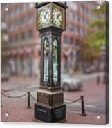 Gastown Steam Clock Acrylic Print