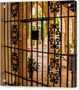 Gate - Alcazar Of Seville - Seville Spain Acrylic Print