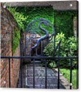 Gate And Arch Acrylic Print