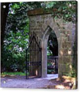 Gate At Cong Abbey Cong Ireland Acrylic Print