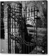 Gate In Macroom Ireland Acrylic Print