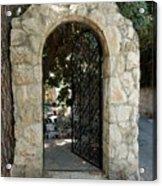 Gate In Rehavia I Acrylic Print