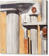 Gate Lock Acrylic Print