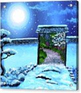 Gate To Spring Acrylic Print