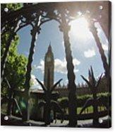 Gated Ben Acrylic Print