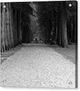 Gated Path Acrylic Print