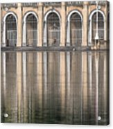 Gated Reflections Acrylic Print