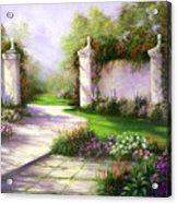 Gates In Menlo Park Acrylic Print