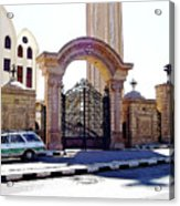 Gates Of Archangel Michael Cathedral Acrylic Print