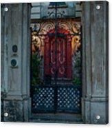 Gates Of Charleston Sc Acrylic Print