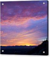 Gates Pass Sunset Acrylic Print