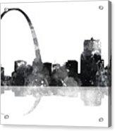 Gateway Arch St Louis Missouri Skyline Acrylic Print
