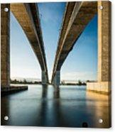 Gateway Bridge Brisbane Colour Acrylic Print