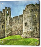 Gateway To Chepstow Castle Acrylic Print