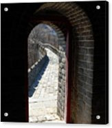 Gateway To Great Wall Acrylic Print