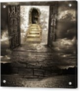Gateway To Heaven Acrylic Print by Andy Frasheski