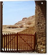 Gateway To Monthemhat Tomb Acrylic Print