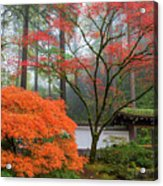 Gateway To Portland Japanese Garden Acrylic Print