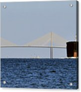 Gateway To Tampa Bay Acrylic Print by David Lee Thompson