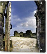 Gateway To The Castle  Acrylic Print