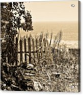 Gateway To The Mediterranean Acrylic Print