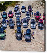 Gathering Of The R60s Acrylic Print