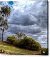 Gathering Storm Clouds Acrylic Print