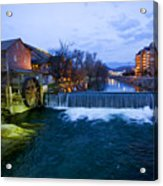 Gatlinburg Mill Acrylic Print