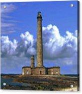 Gatteville Lighthouse Acrylic Print