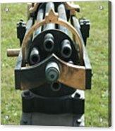 Gattling Gun Acrylic Print