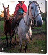Gaucho Argentino Acrylic Print