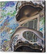 Gaudi Balcony Acrylic Print