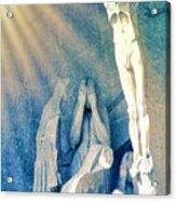 Gaudi Crucifixion Acrylic Print
