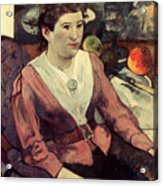 Gaugin: Marie Derrien, 1890 Acrylic Print