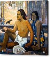 Gauguin:tahiti Women Acrylic Print