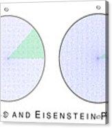 Gauss And Eisenstein Primes Acrylic Print