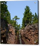 Gauthier Falls In Late August Acrylic Print