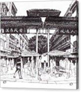 Gaya Street Acrylic Print